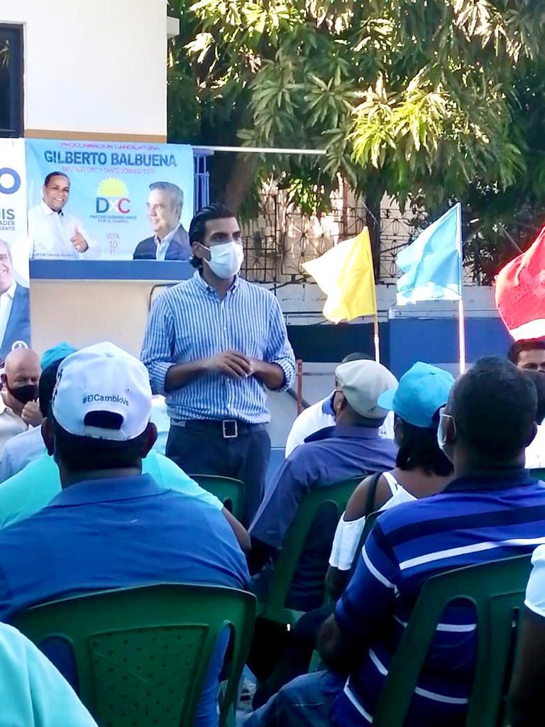 Dominicanos por el Cambio proclama a Juan José Rojas del PRM como su candidato en SDE