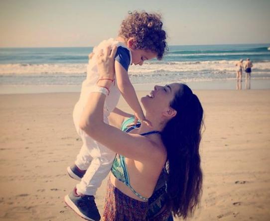 Video | Emotivo reencuentro de Danna García y su bebé tras la actriz dar negativo al coronavirus