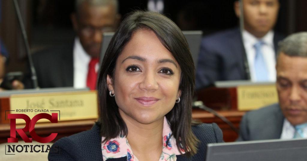 Faride Raful asegura no participará en debate ANJE por decisión partidaria