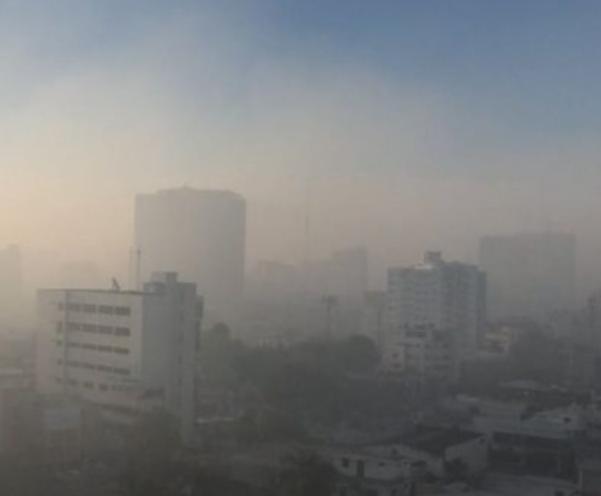Aire de SD registra altos niveles de partículas contaminantes, por encima de recomendaciones de OMS