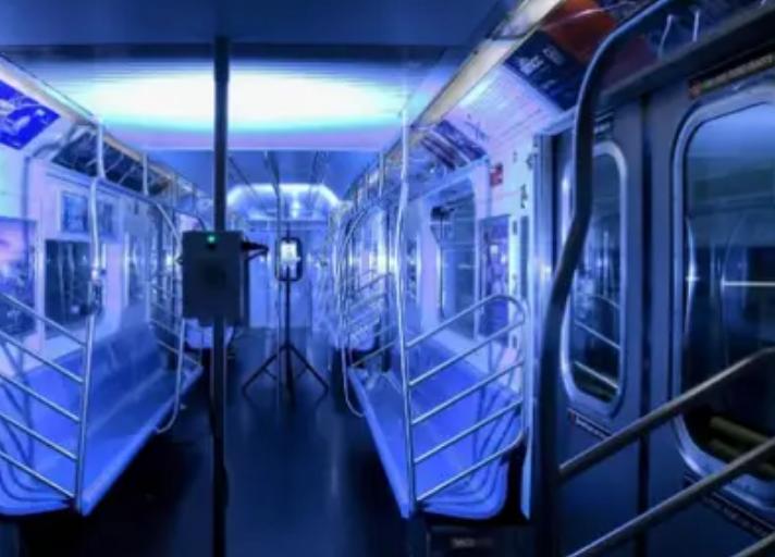 Luz ultravioleta: la nueva tecnología que prueba el Metro de Nueva York para eliminar restos de COVID-19