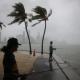 La tormenta Gordon el 3 de septiembre de 2018 en Miami, Florida (Joe Raedle/Getty Images/AFP)