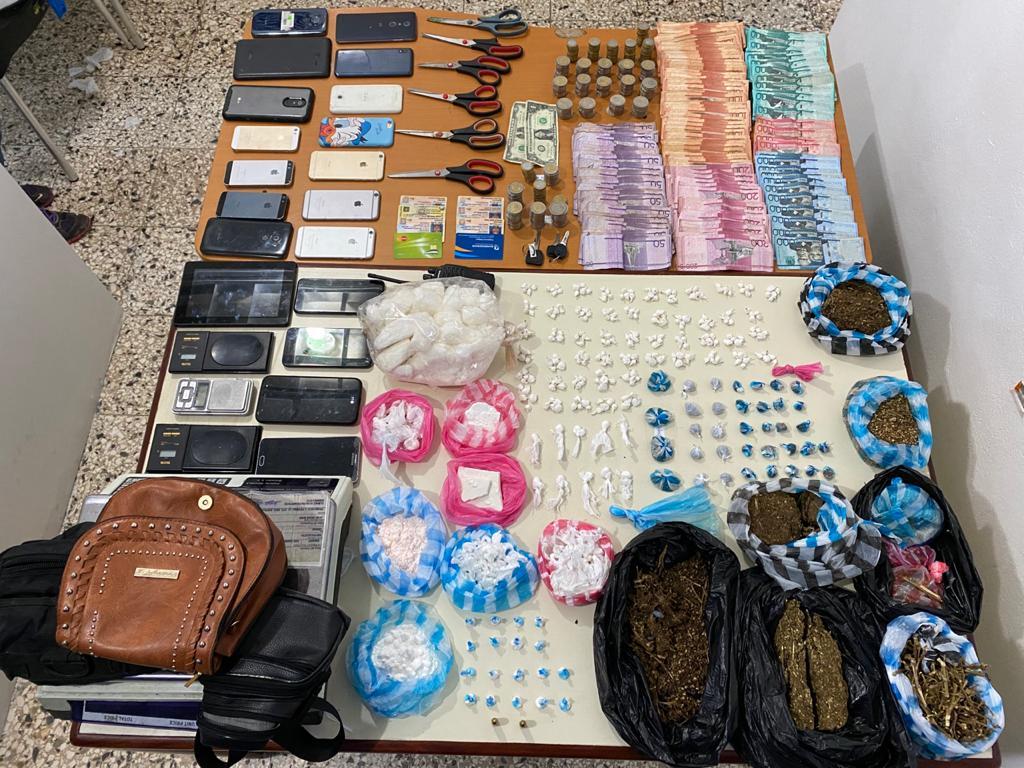 Policía Nacional apresa a 37 presuntos microtraficantes