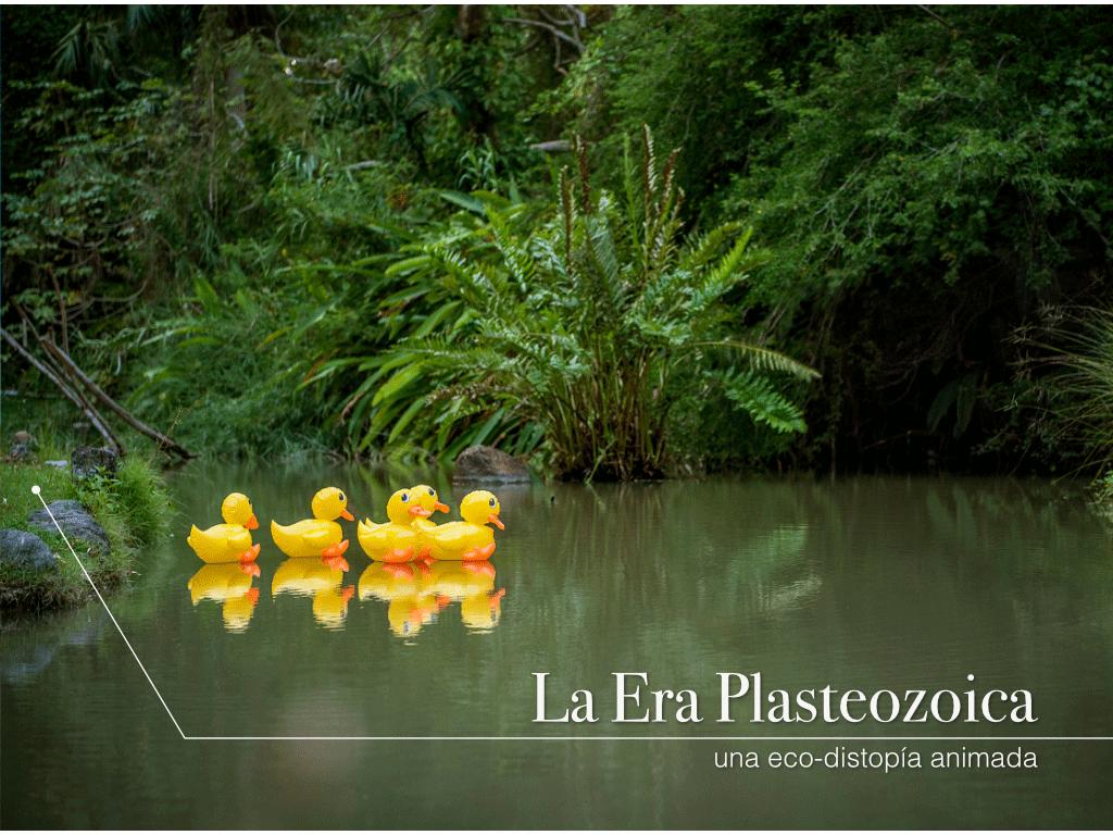 La Era Plasteozoica: una eco-distopía animada se presenta este viernes