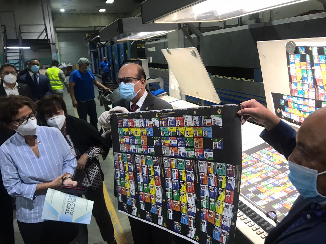 Editora Corripio inició impresión de boletas para elecciones 5 de julio