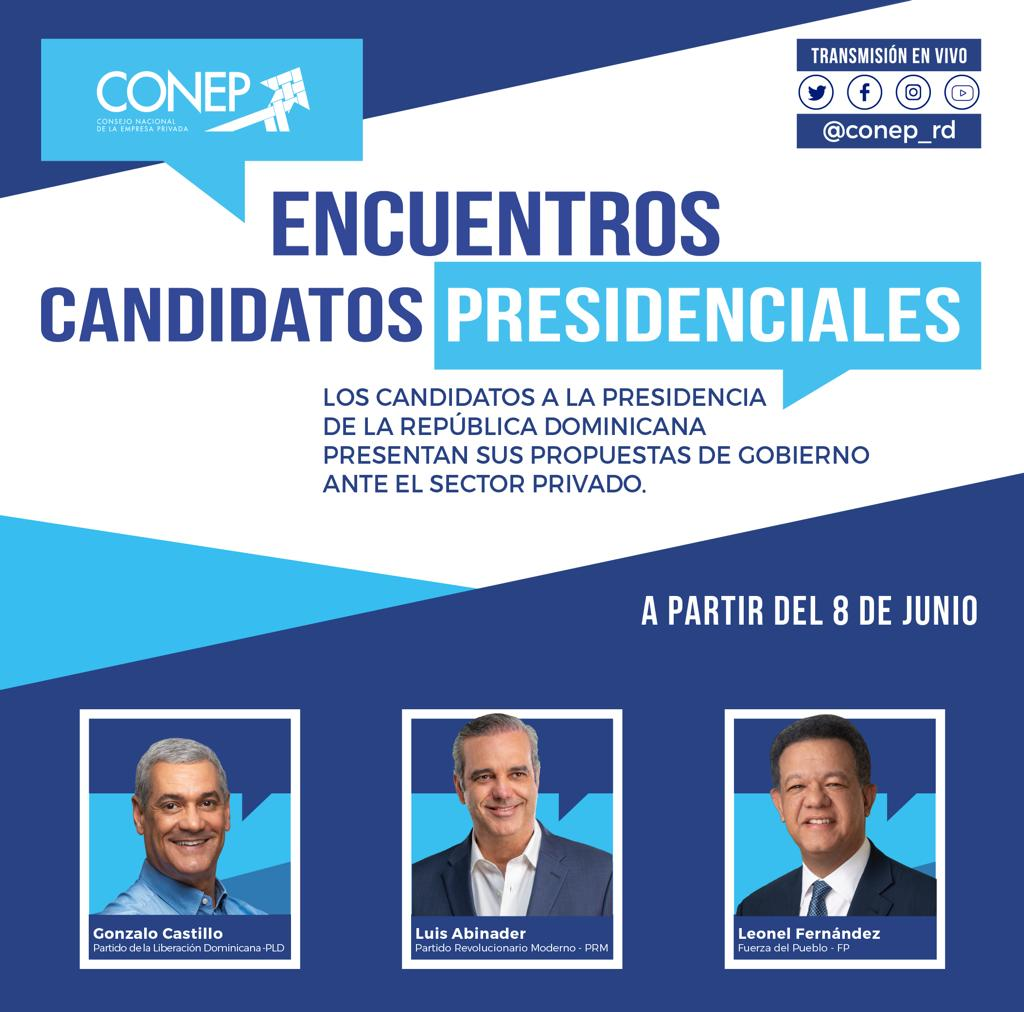 CONEP encabeza encuentros con candidatos presidenciales para conocer propuestas 2020-24
