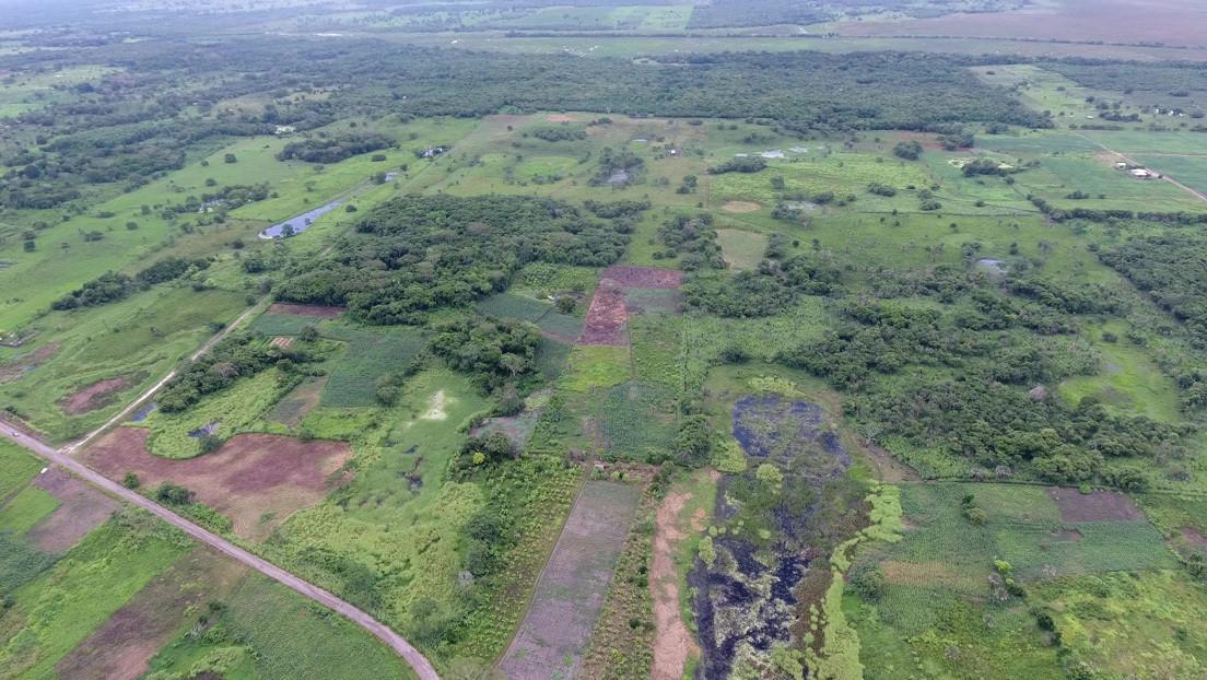 """Científicos descubren la """"construcción monumental más antigua"""" de la civilización maya en México"""