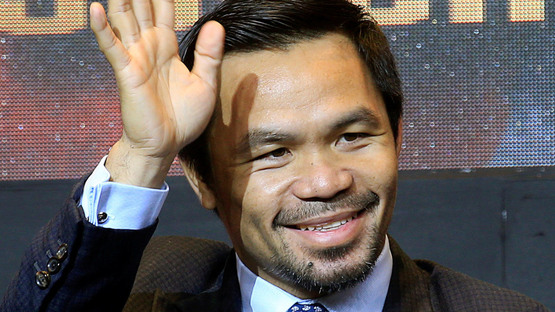 El boxeador Manny Pacquiao se postulará como presidente de Filipinas