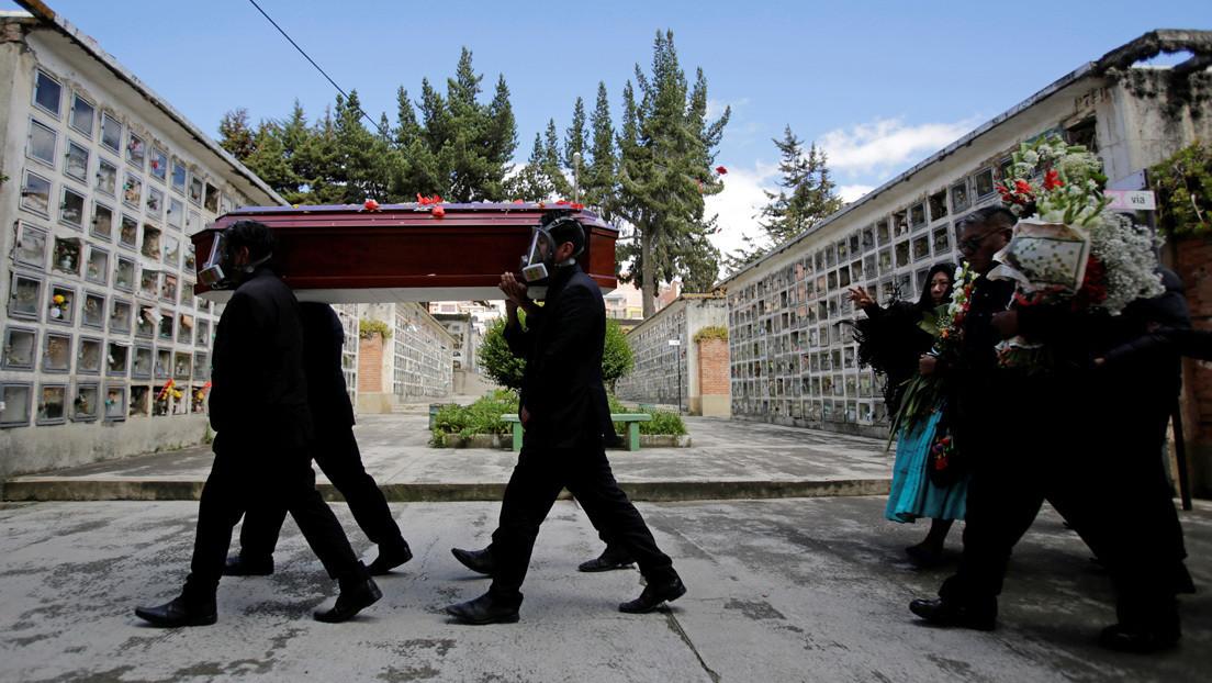 Ministro boliviano culpa a los enfermos por fallecer en la vía pública