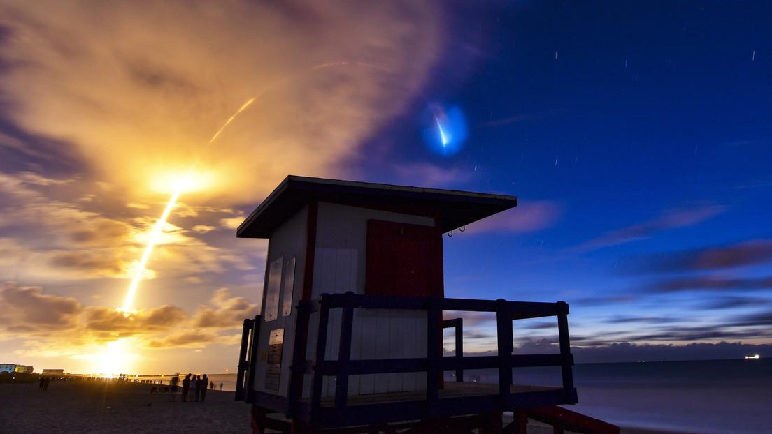 Fotos   El lanzamiento de los Starlink deja increíbles imágenes en el cielo poco antes del amanecer