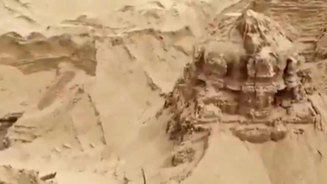 Video | Encuentran un templo de Shiva de hace varios siglos enterrado en la India