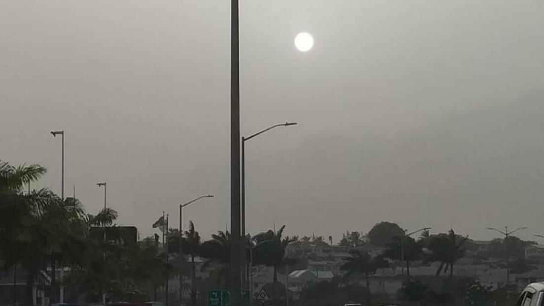 Video | Una enorme nube de polvo procedente del Sahara cubre el Caribe