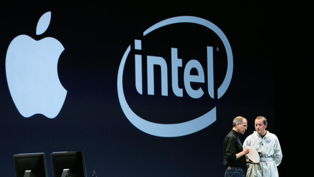 Apple anuncia que abandonará Intel y usará sus propios chips