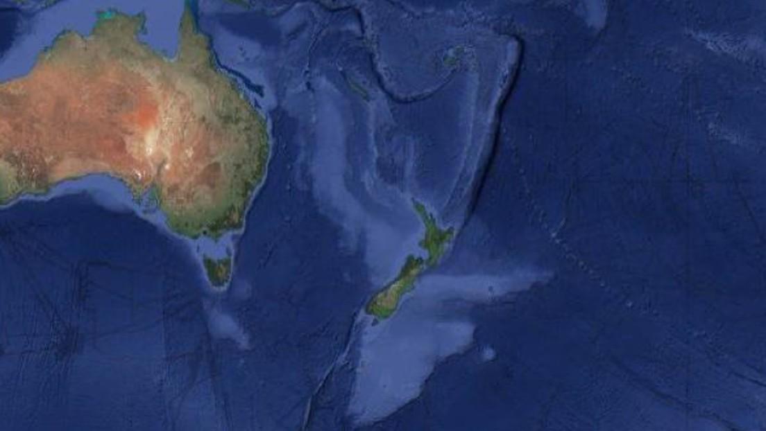 Fotos | Publican nuevos mapas del 'séptimo continente' hundido en el océano