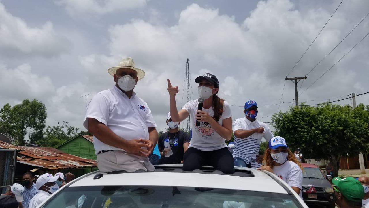 Carolina Mejía llama a votar sin miedo en las próximas elecciones