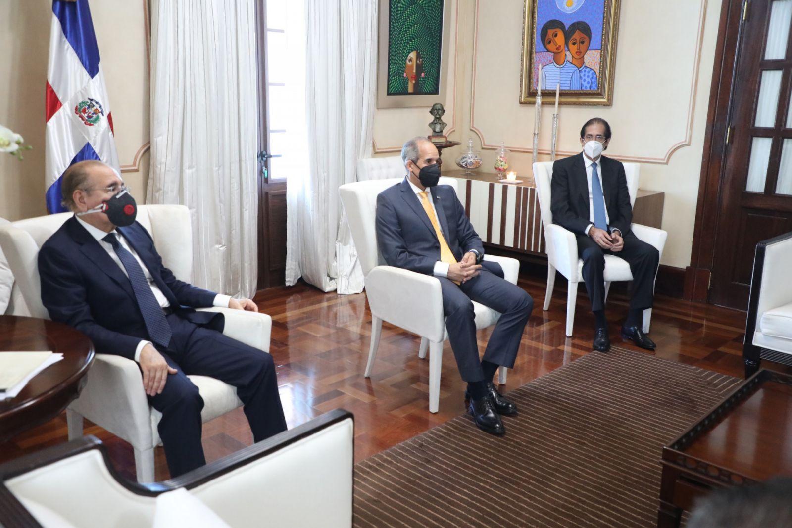 Video | Junta Directiva de ASIEX felicita al presidente Danilo Medina por adecuado manejo de la pandemia