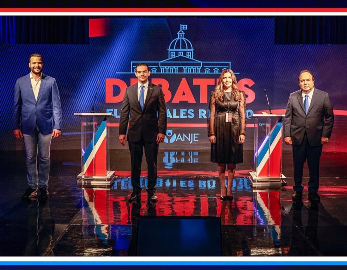 ANJE celebra con éxito debate entre candidatos al senado del Distrito Nacional