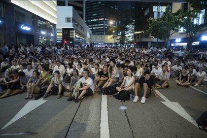 Hong Kong prohibió por primera vez en 17 años la manifestación del 1 de julio