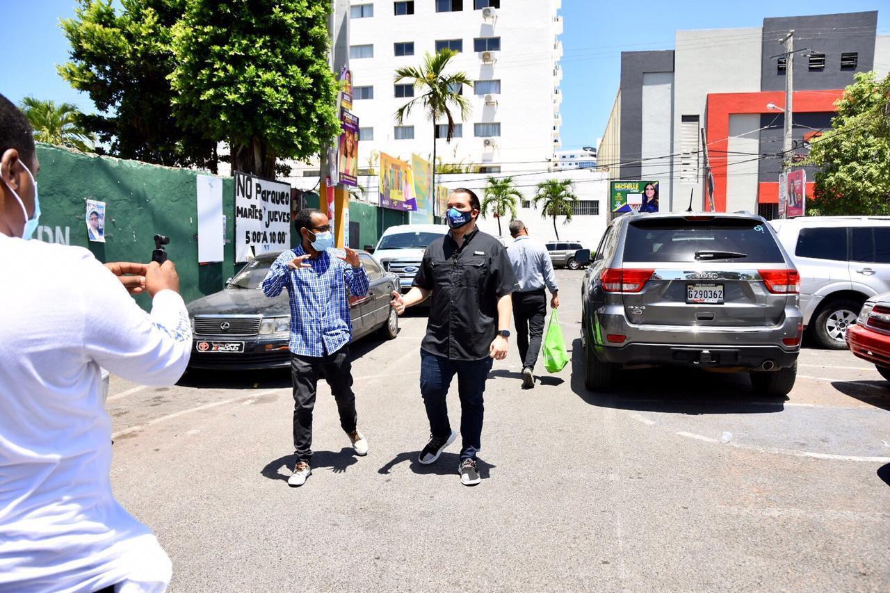 Orlando Jorge promete presentar proyecto de ley para incentivar televisión dominicana