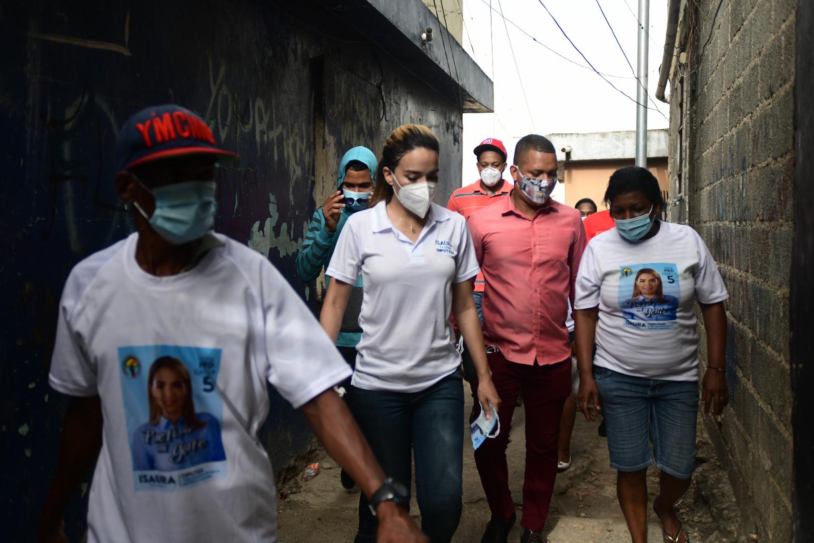 Campaña de Isaura Taveras ha impactado a más de 5 mil  familias en la circunscripción No. 3 del DN