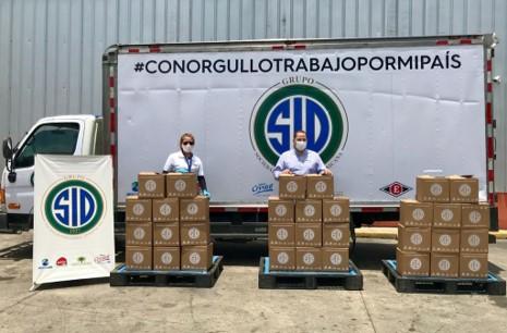 Grupo SID beneficia a 1,000 familias con alimentos y productos de primera necesidad