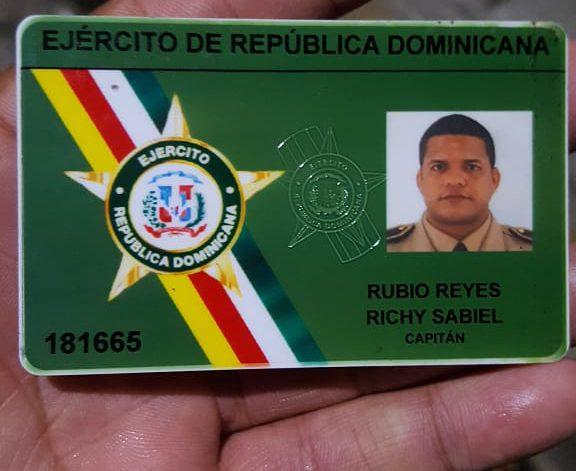 Policía Nacional investiga muerte de capitán del Ejército en San Cristóbal