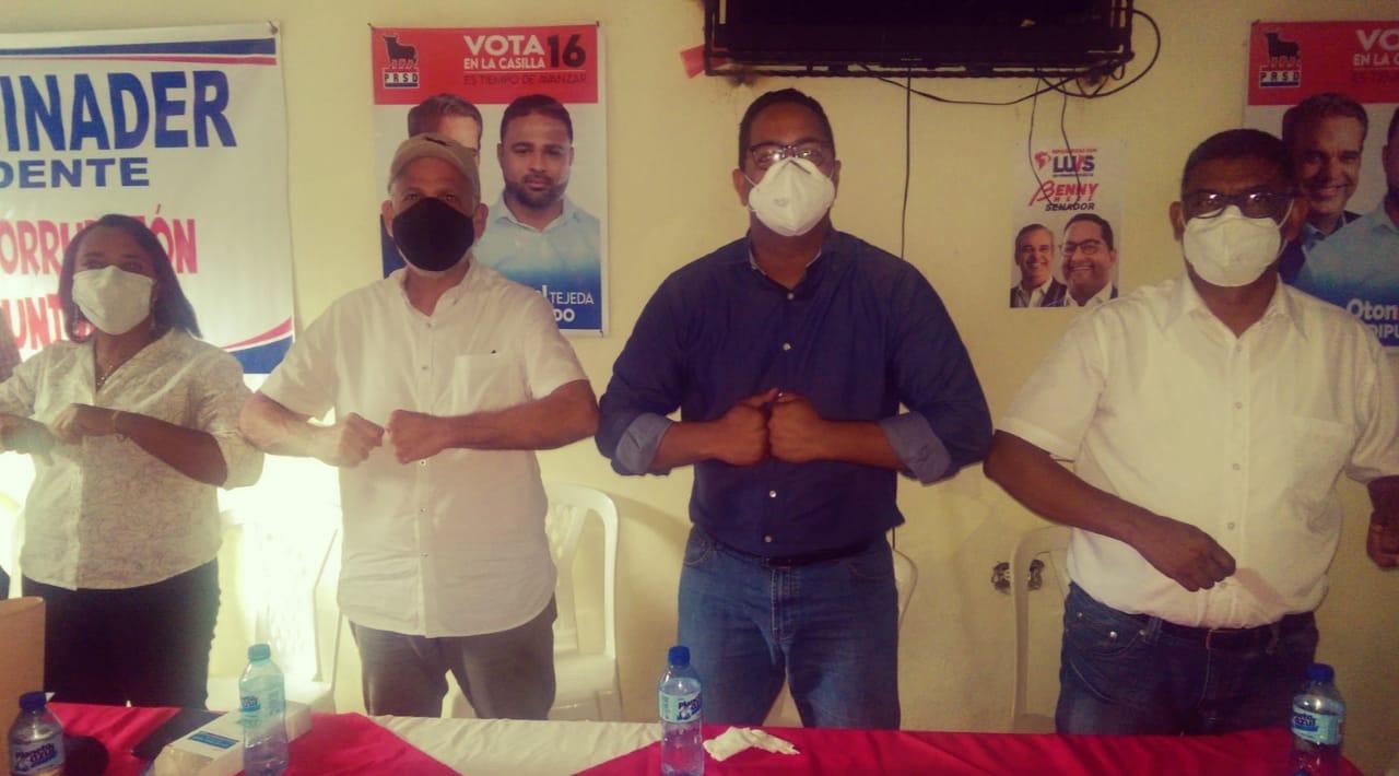 Benny Metz recibe apoyo del Partido Revolucionario Social Demócrata como senador de San Cristóbal