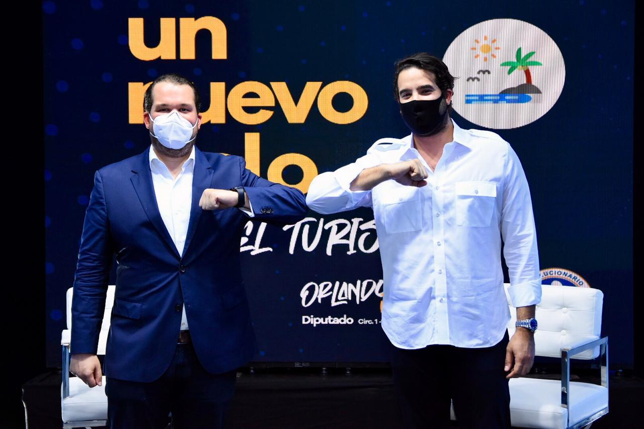 Orlando Jorge Villegas presenta propuestas para dinamizar el sector turístico