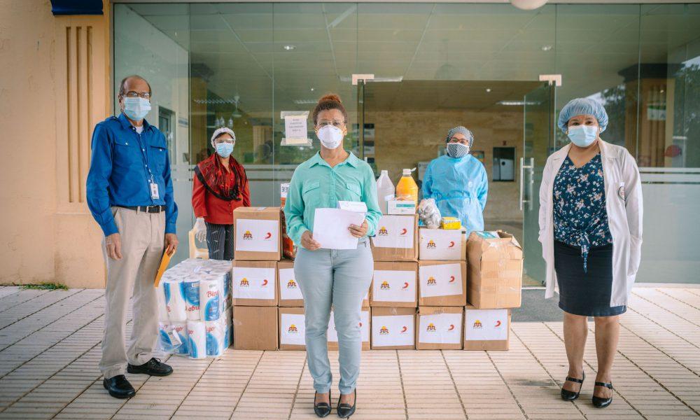 Red de Apoyo de Sur Futuro contra Covid19 favorece cientos de familias y hospitales en el país