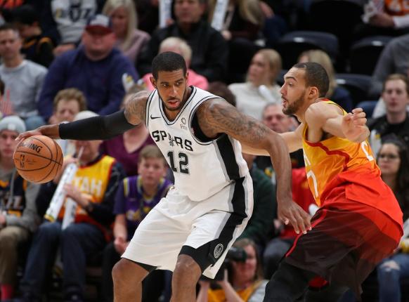 Los Spurs sufren la baja de LaMarcus Aldridge por lo que resta de la temporada
