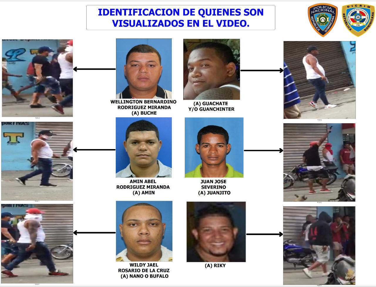 Policía Nacional revela resultados de investigación de banda que protagonizó tiroteos en Capotillo