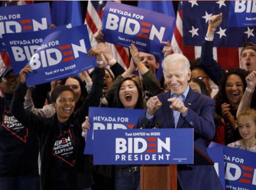 Biden, negativo en prueba de covid-19, retoma su campaña a la Casa Blanca