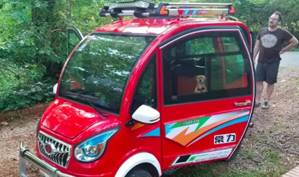 Video   Un aficionado pone a prueba el coche eléctrico más barato del mundo