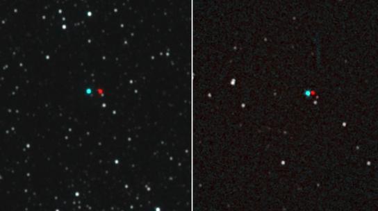 """La NASA difundió las primeras imágenes de """"un cielo alienígena"""""""