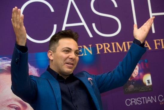 Cambio de rumbo: Cristian Castro debutaría en el cine con una película que filmaría en Argentina