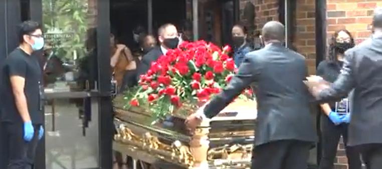 Estados Unidos despide a George Floyd en un funeral privado donde se pidió un cambio en la sociedad