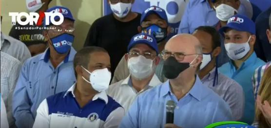 Video   Hipólito Mejía asegura Abinader, Raquel y Héctor Acosta serán ganadores de próximas elecciones