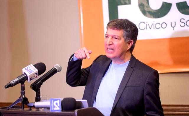 """Frente Cívico y Social califica de """"frustrantes, deprimentes y vacías"""" las propuestas de los candidatos ante la AIRD"""