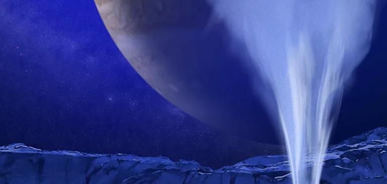 Los científicos descubren que una de las lunas de Júpiter podría albergar vida