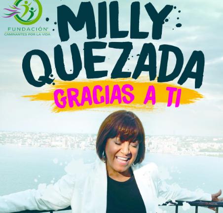 """Milly Quezada rinde tributo a personal médico con """"Gracias a ti"""""""