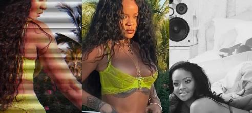El atrevido regreso de Rihanna al modelaje: rompe el internet en lencería