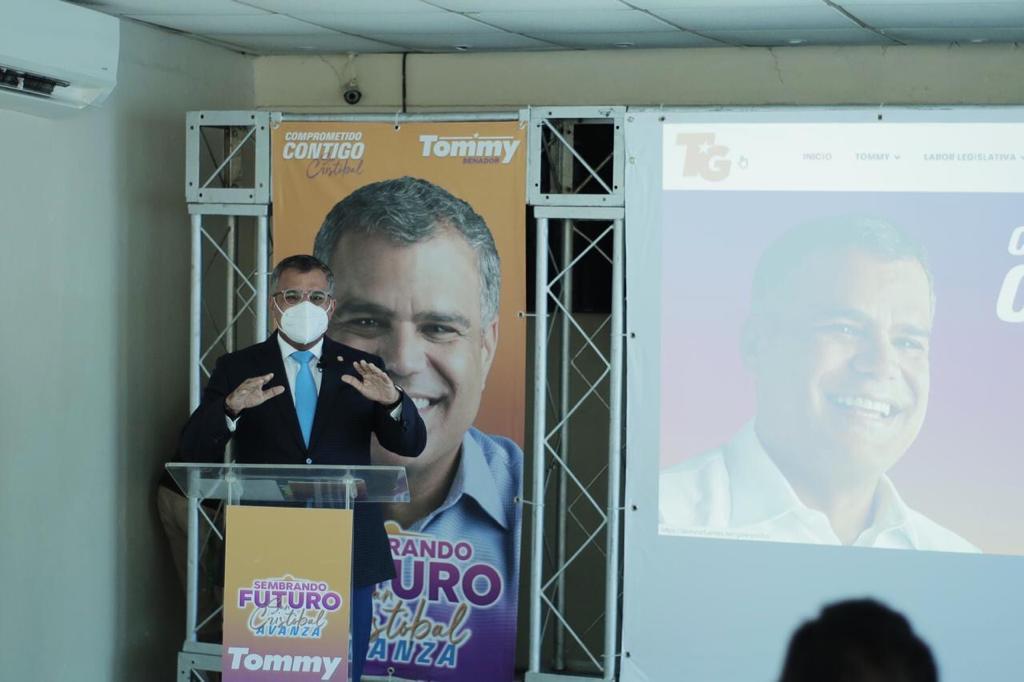 "Tommy Galán presenta plataforma digital ""Sembrando Futuro, San Cristóbal Avanza"""