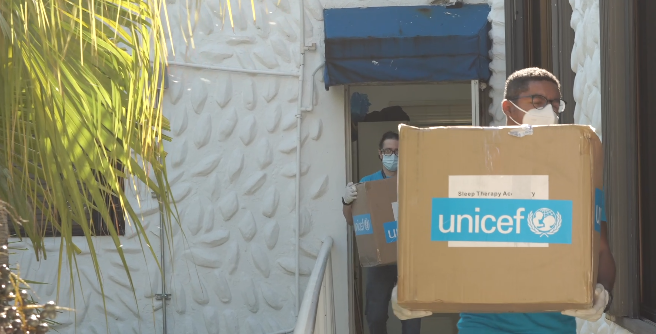 Video | UNICEF entrega al SNS ventiladores no invasivos para pacientes con COVID-19