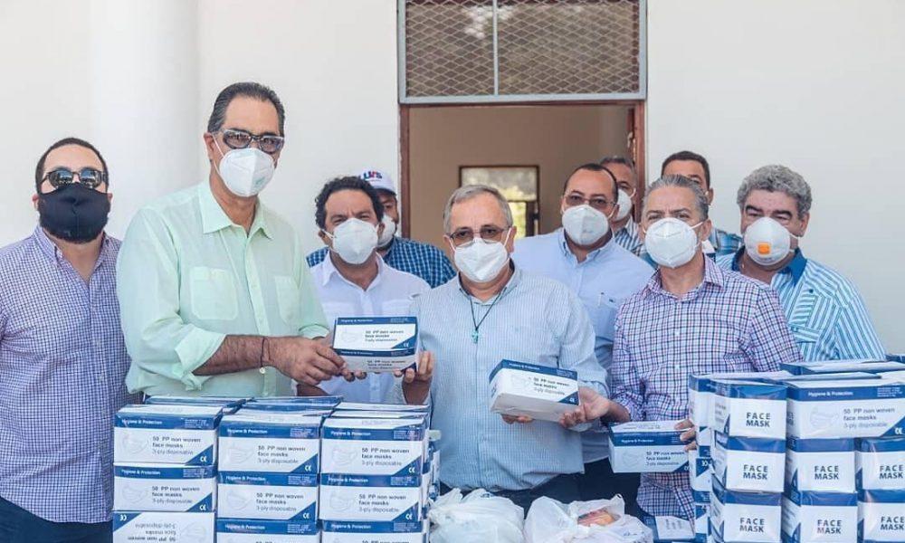 Corsé Ignorante de Luis Abinader recorre provincias del Sur; entregan insumos médicos a hospitales