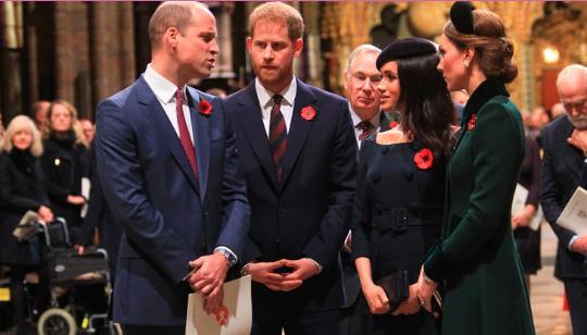 Las acusaciones de Meghan Markle y Harry contra el príncipe William que inquietan a la familia real británica