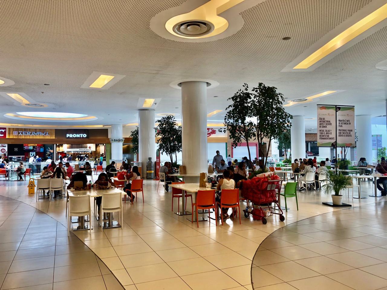 Video | Restaurantes de Ágora Mall reciben sus primeros comensales después de haber permanecidos cerrados
