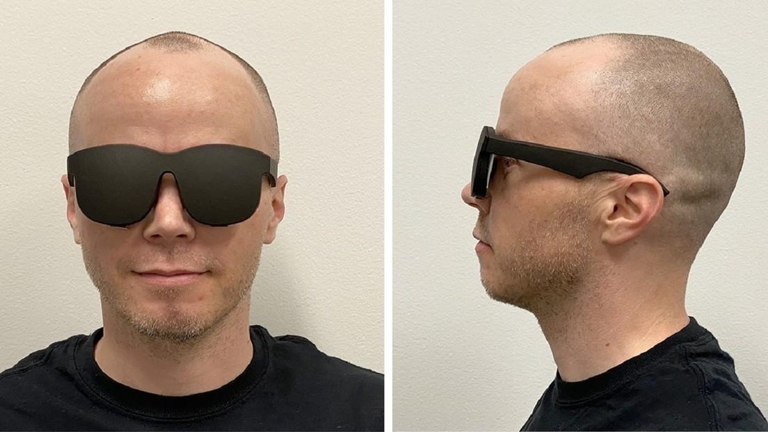 Facebook diseña un set de realidad virtual que parece unas gafas de sol