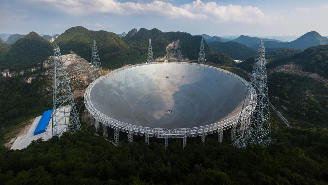 El radiotelescopio más grande del mundo detecta por primera vez una emisión de hidrógeno neutro extragaláctico