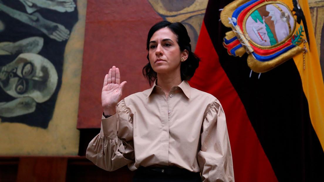 María Alejandra Muñoz asume la Vicepresidencia de Ecuador