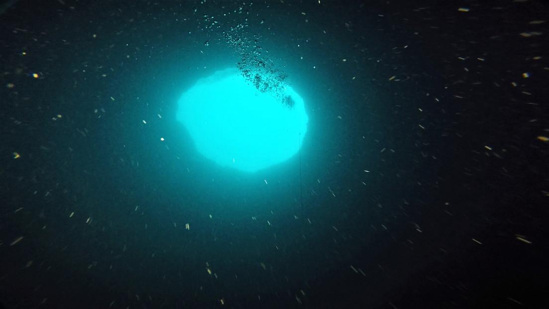 Video | Científicos de EE.UU. explorarán un misterioso agujero azul de 130 metros de profundidad cerca de Florida